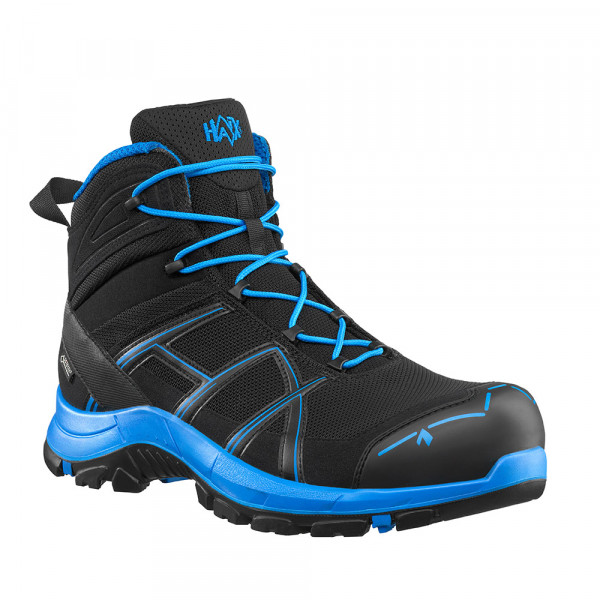HAIX Black Eagle Safety 40.1 mid/black-blue